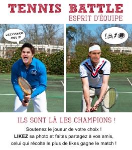 Tennis Battle
