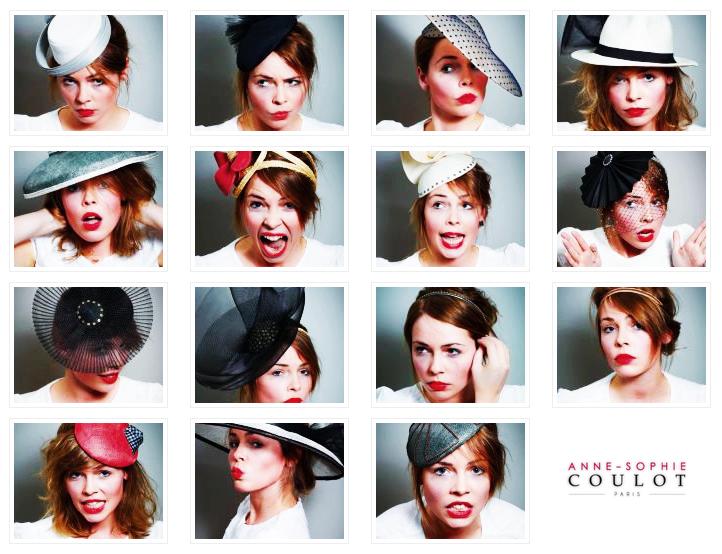 Anne-Sophie Coulot - chapeaux - accessoires