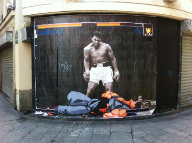 street art Muhammad Ali