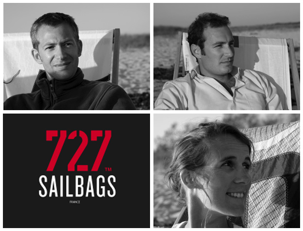 727Sailbags - Jean-Baptiste Roger - Erwann Goullin - Anna Beyou