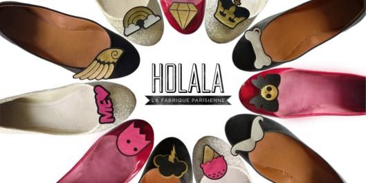 Holala - la fabrique parisienne clips chaussures