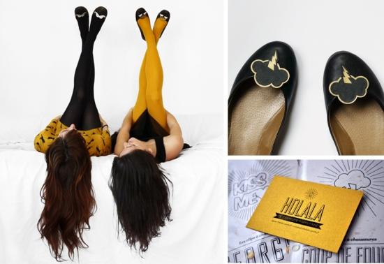 Holala - la fabrique parisienne, Nora et Lora, clip coup de foudre