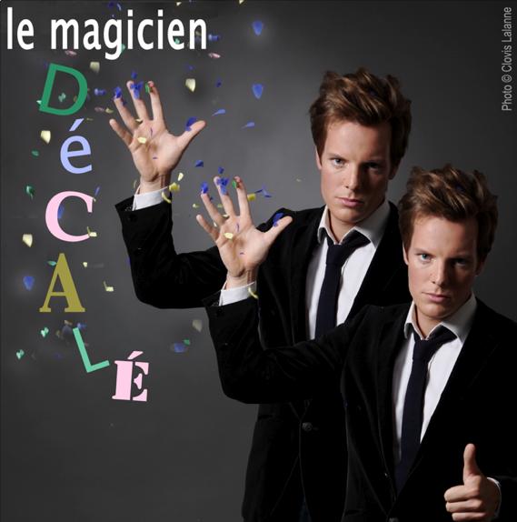 """Charlie Clarck spectacle """"Le magicien décalé"""""""