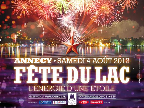 Affiche Fête du Lac d'Annecy 2012
