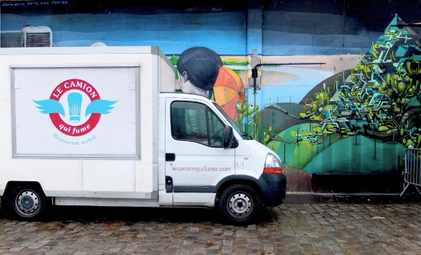 Le camion qui fume, food truck