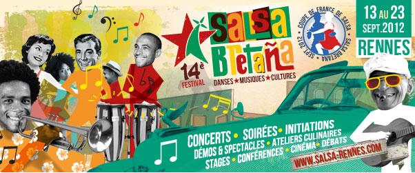 Affiche festival Salsa Bretana