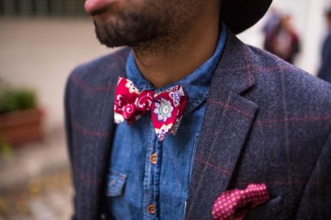 paisley rouge coton