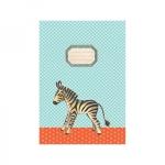 protege cahier zebre